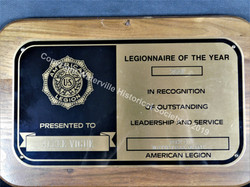 Alcee Vigue Legionnaire award 2001