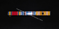 WWII Ribbon Band with 1 star missing