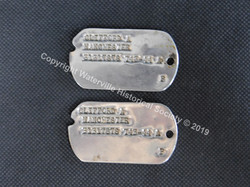 Clifford Manchester Dog Tags