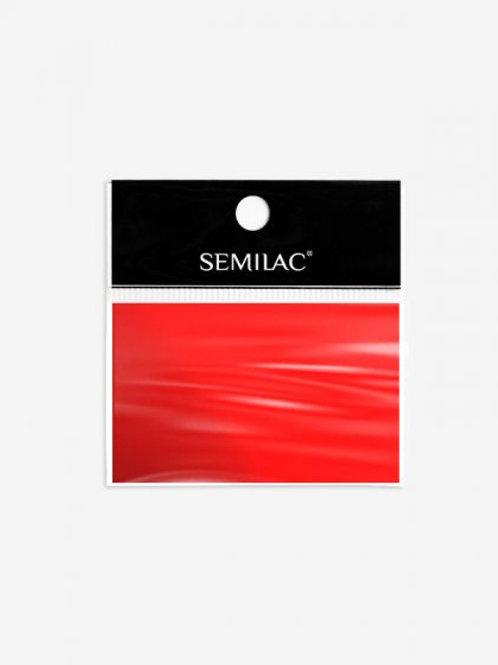 746 Decoraciones Semilac Foil Rojo