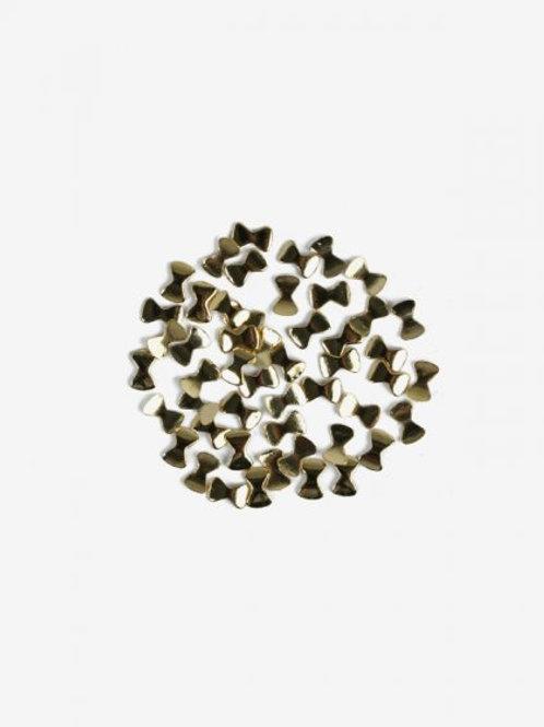 770 Decoraciones Semilac Gold Ribbons (lazos) 50 unidades