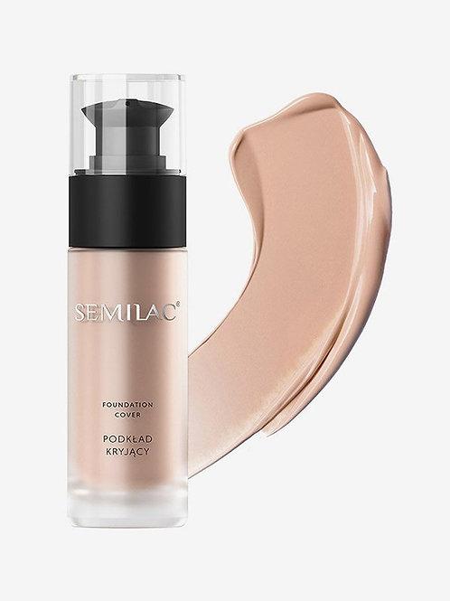 Semilac Base de Maquillaje Cover 40 Natural Tan