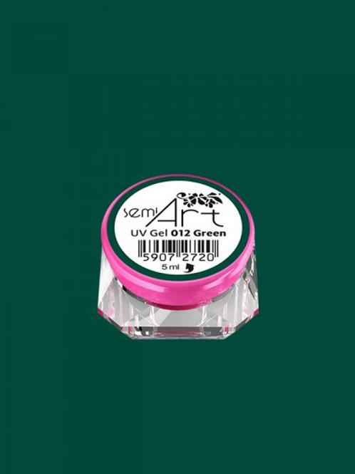 SemiArt UV Gel 012 Green