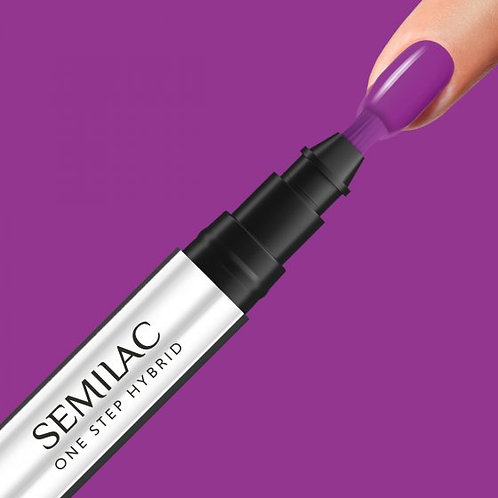 S760 Semilac One Step Hybrid Hyacinth Violet 3ml