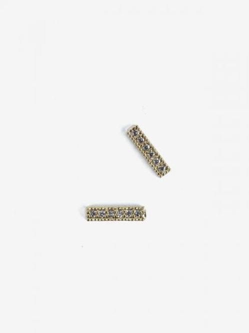 788 Decoraciones Semilac Gold Strapps 2 unidades