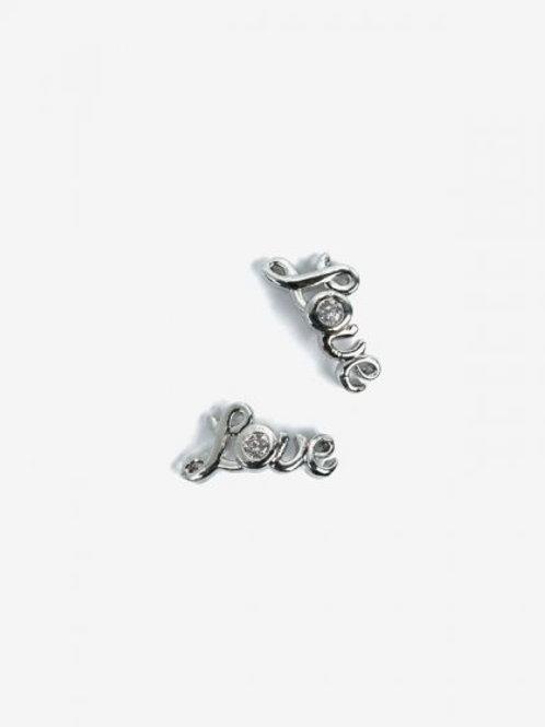 793 Decoraciones Semilac Silver Love 2 unidades