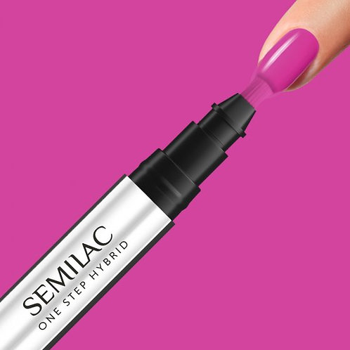 S685 Semilac One Step Hybrid Pink Purple 3ml