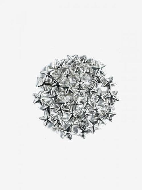 761 Decoraciones Semilac Silver Big Stars 50 unidades