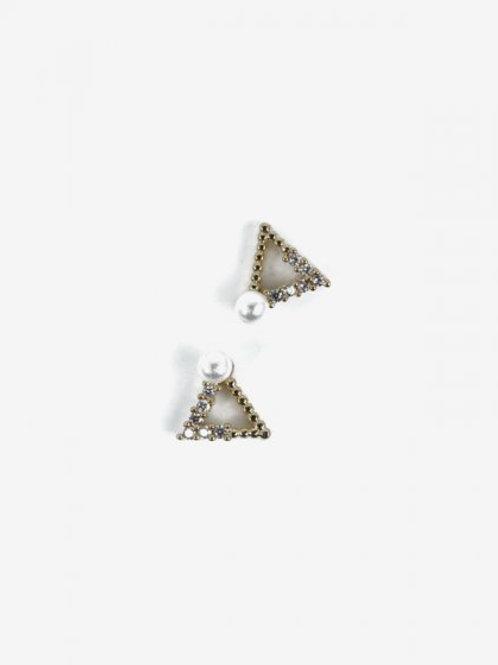 784 Decoraciones Semilac Gold Triangles 2 unidades