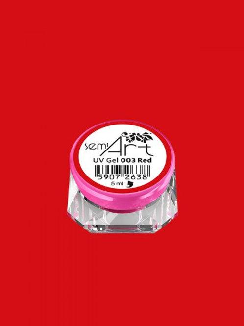 SemiArt UV Gel 003 Red