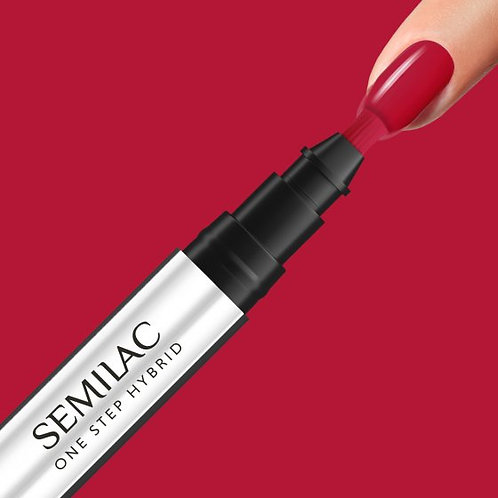 S550 Semilac One Step Hybrid Pure Red 3ml