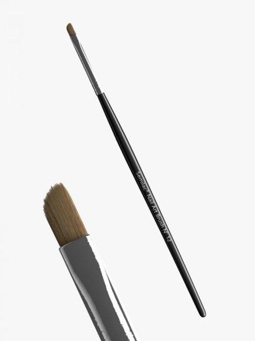 Pincel de decoración Semilac Nail Art Brush N 12