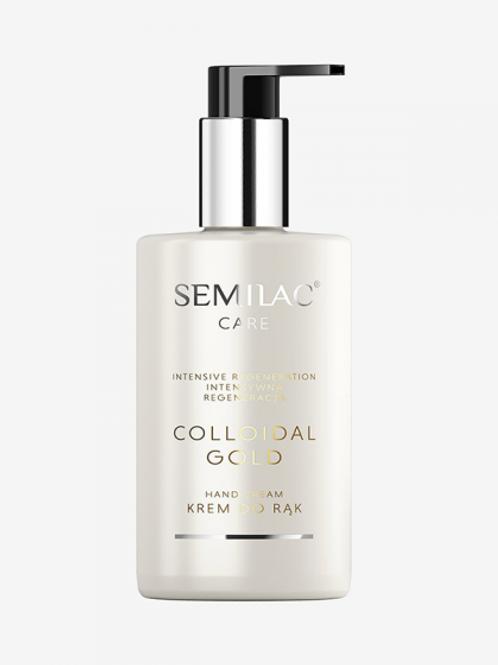 Crema de Manos Regeneradora Semilac Colloidal Gold 250ml