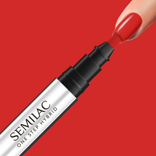 S530 Semilac One Step Hybrid Scarlet 3ml