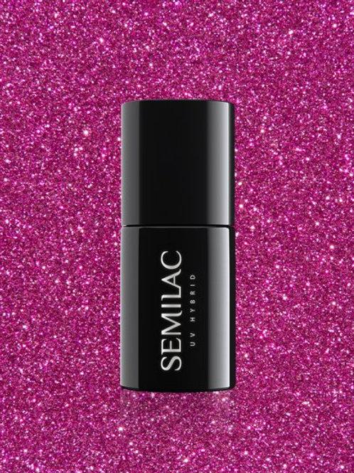 258 Esmalte semipermanente Semilac Platinum Intense Pink 7ml