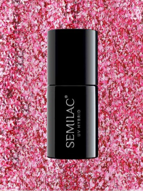 296 Esmalte Semipermanente Semilac Intense Pink Shimmer 7ml