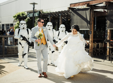 Jan & James's Star Wars Wedding - Chuck Jones Gallery, Costa Mesa - April 14th, 2018