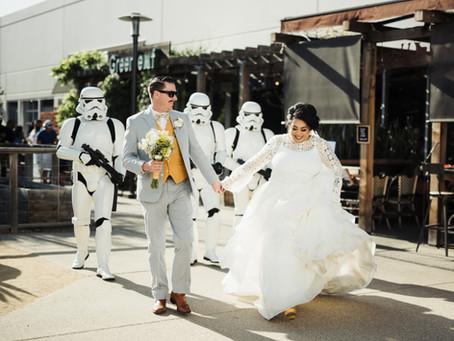 Jan & James's Star Wars Wedding - Chuck Jones Gallery, Costa Mesa - April 14th, 2018