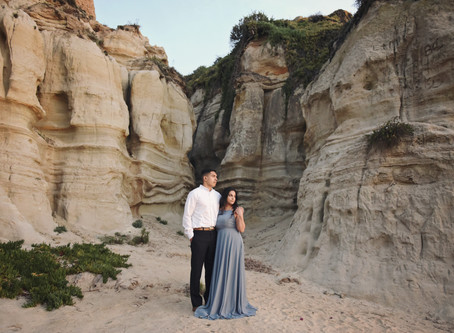 Ana & Alex - Engagement Photos - Calafia State Park, San Clemente, CA - February 17th, 2018