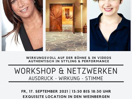 Nächster Workshop: 17. September 2021 in der Buschenschank Sandberg