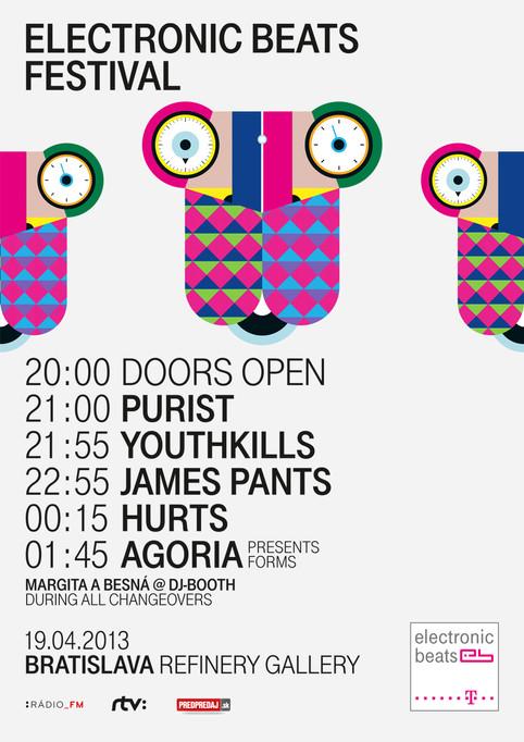 Electronic Beats Festival - Hurts recording