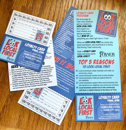 Look Local First Punchcard Program