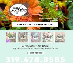 Simply Blooming in Traer