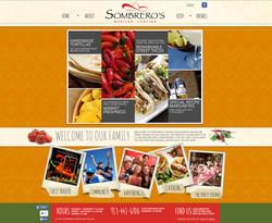 Sombrero's Mexican Cantina website
