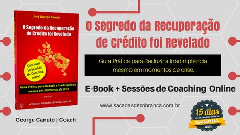 E-Book - O Segredo da Recuperação de Crédito foi Revelado + Coaching