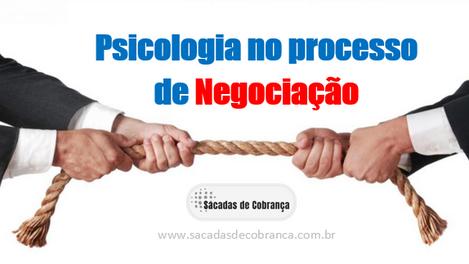 Psicologia no proceso de Negociação