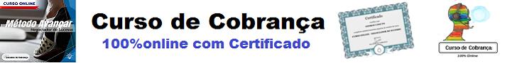Curso de Cobrança - 100% online com Certificado