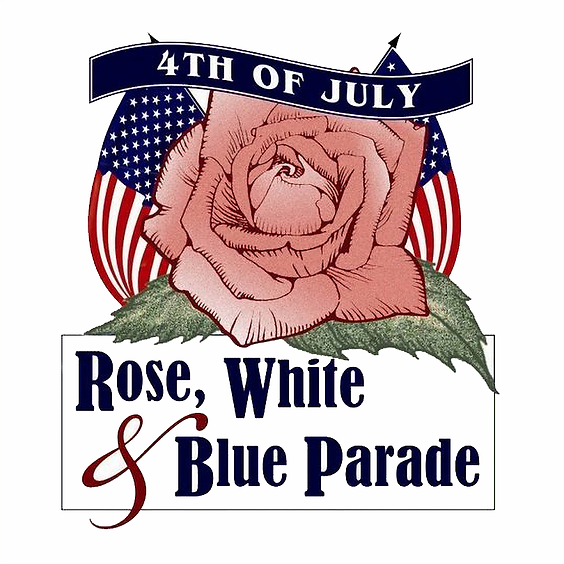 Rose, White & Blue Party