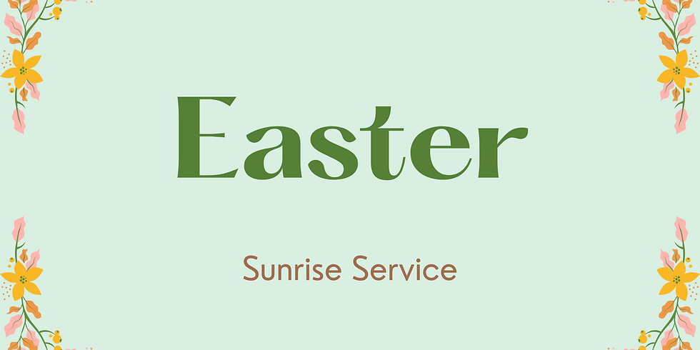 EASTER (6:30 AM)