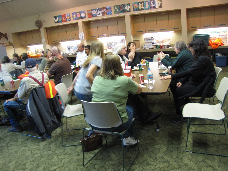 Volunteers' Pizza Party