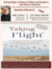 Taking Flight Author to Visit Volo Bog S