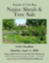 Native Shrub & Tree Sale with Friends of
