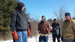 Eagle Scouts install Bluebird houses