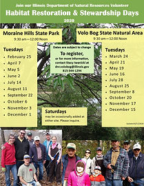 2020 Habitat Restoration Days at MHSP &