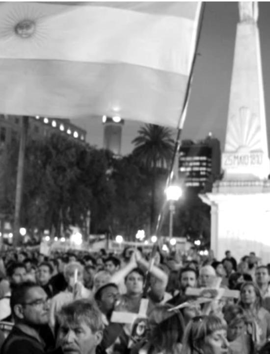 Protestas en Buenos Aires por la mue