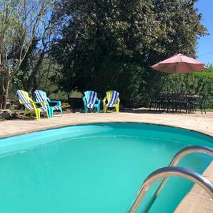 Walnut Tree Gite Pool Relaxation.JPG