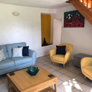 Living Room Walnut Tree Gite