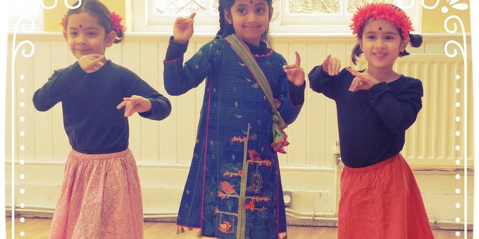 Odissi Kids Classes Autumn Term
