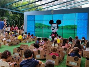 """""""Drive-In Kids"""" - Iguatemi Campinas com programação do Disney Junior para os pequenos"""