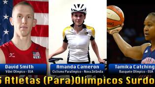 Deficientes Auditivos nas Olimpíadas e Paralimpíadas