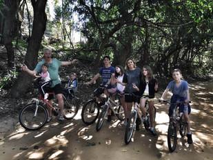 Trilha de Bike em Joaquim Egídio com crianças