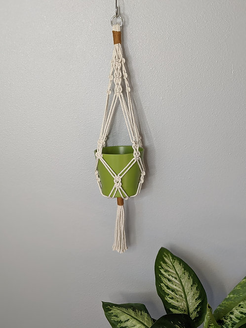 Snap Ring Plant Hanger