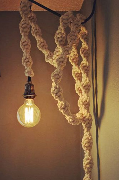 Industrial Style Rope Light