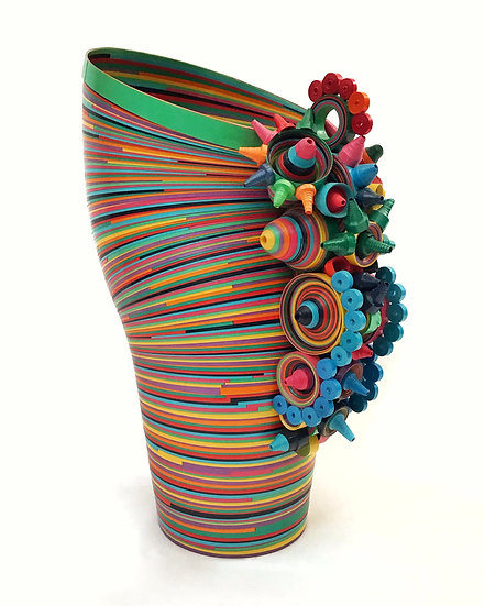 Florero Escultórico Alebrije Multicolor