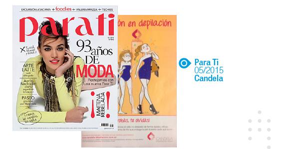 Candela, Para Ti, Mayo 2015