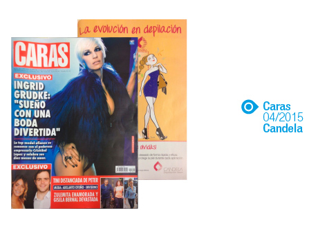 Candela, CARAS, Abril2015